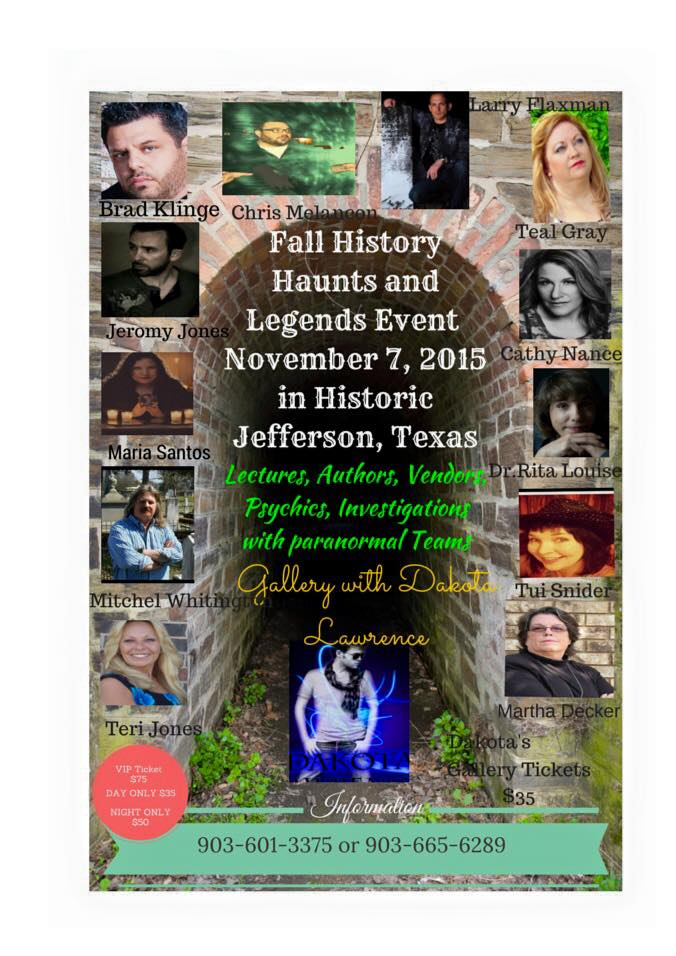 Spring History, Haunts and Legends - Historic Jefferson, TX @ Jefferson | Texas | United States