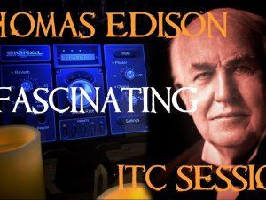 Fascinating EVP ITC Session with Thomas Edison Using Signal Ghost Box App