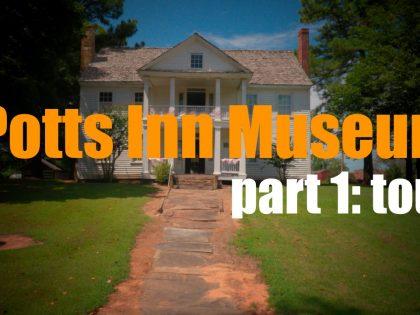 Is the the Historic Potts Inn Station Stagecoach Stop Museum in Pottsville, Arkansas Haunted?  Pt. 1